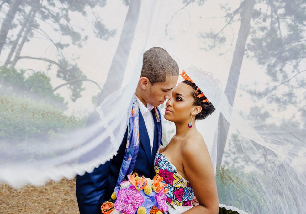 Fleuriste pour mariage exotique et romantique - bouquet de mariée - wax